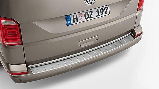 Transporter T5 /& T6 Coque de seuil de pare-chocs arri/ère en acier inoxydable compatible avec VW T5 2003-2015 et T6 avec portes de grange