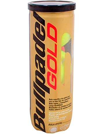 Pelota Bullpadel Gold: Amazon.es: Deportes y aire libre