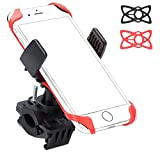Ailun Bike Motorcycle Cell Phone Mount Holder,Handlebar Rack Grip Universal Compatible iPhone X/8/8 Plus,7/7 Plus,6/6s Plus,Galaxy S9/S9+,S8/S7/S6,and Other Smartphones,iPods,and MP3 Player[Black] For Sale