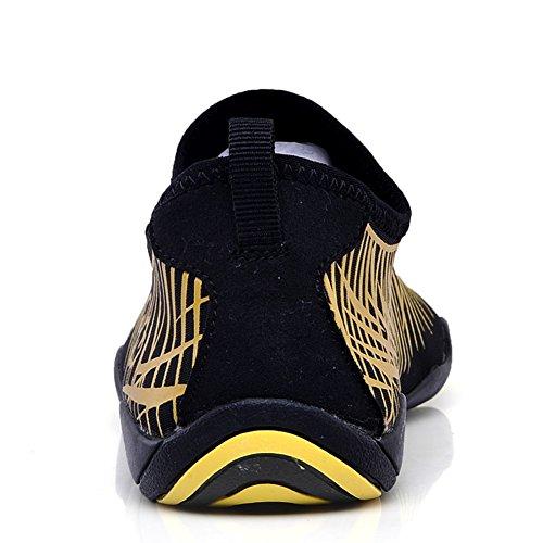 Pool Water Aqua a Swim Sports Womens yellow Exercise Beach Shoes Mens adituo Barefoot Socks 7Xq8wE11p