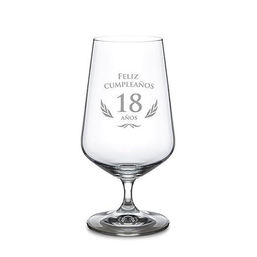 AMAVEL Copa de Cerveza para el 18 Cumpleaños - Cervezas Tipo ...
