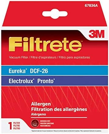 3M Eureka DCF-26 Allergen Vacuum Filter, 1, Black 51oIQsQwWVL