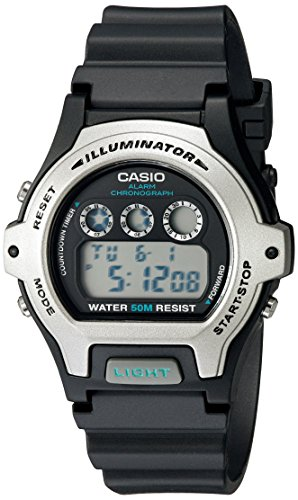 Casio Womens LW 202H 1AVCF Illuminator Black