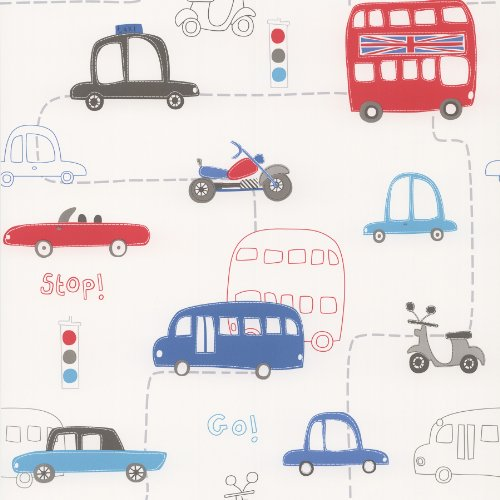 brewster-443-90505-moto-london-british-autos-wallpaper-red