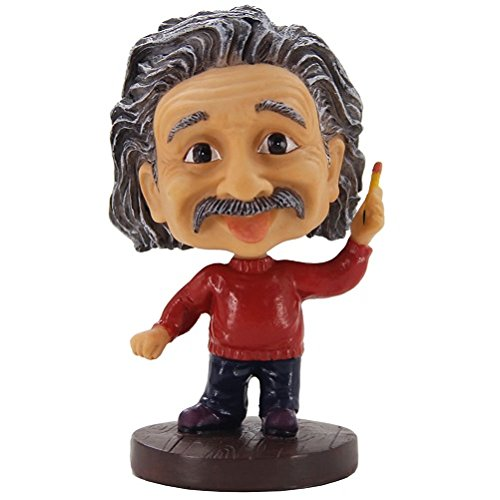 Albert Einstein Bobblehead - Einstein Statue,Car Dash boards Bobble Head/Desk Accessories