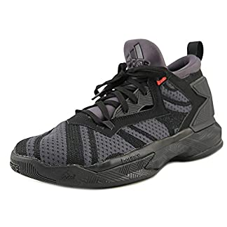 adidas D Lillard 2 J Gs Black/Black/Red Gs Basketball (B72855)