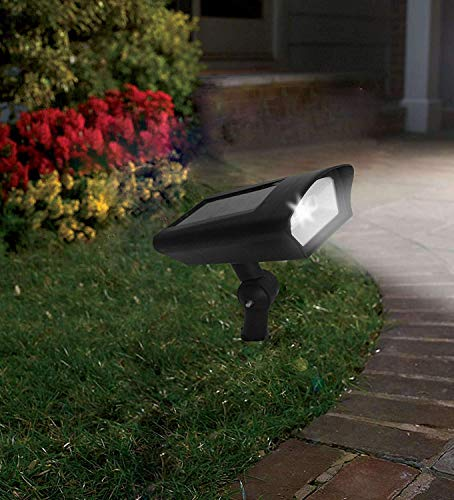 Solar LED Lawn Light Outdoor Motion Sensor Dusk to Dawn Fake Dummy Camera for Garden Ground Path Porch Wall Security Dual Use Wireless Waterproof Pack of 1 by Gather sun (Image #4)