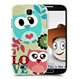 CoversFromUs BABY FACE CUTE OWL Cover NEW Hard Case for Samsung Galaxy S4 SIV i9500 (Love Owl)