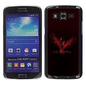 YiPhone /// Prima de resorte delgada de la cubierta del caso de Shell Armor - Veni Vidi Vici Angel - Samsung Galaxy Grand 2 SM-G7102 SM-G7105