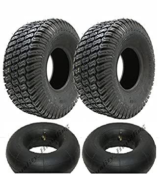 Parnells For sale two 11x4.00-5 4ply turf grass lawn mower tyres 11 400 5 tire ride on lawnmower