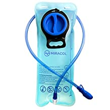 Miracol 2L Hydration Bladder Water Reservoir, BPA Free, FDA Approved and Taste Free for Outdoor Cycling Hiking Camping Climbing Running Pack
