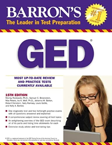 Ged manual 2013 ebook array amazon com ged barron u0027s ged book only ebook murray rockowitz rh fandeluxe Image collections