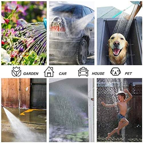 BAOFI Expandable Garden Hose Water Gun Accessories are Leak-proof and High-pressure Explosion-proof for Car Washing and Watering Leakproof Lightweight Retractable Water Hose,100FT
