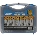 Kreg SK03 Pocket-Hole Screw Kit in 5 Sizes