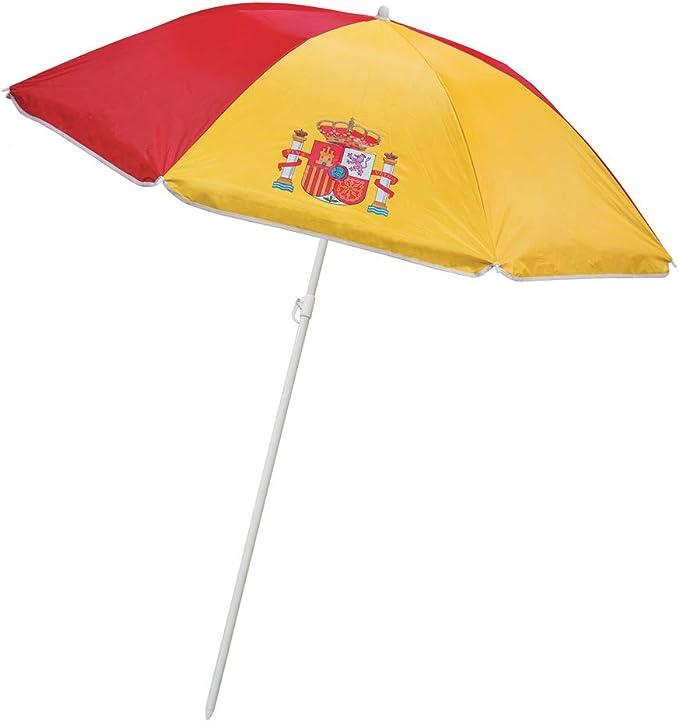 SOMBRILLA Proteccion UV ESPAÑA- Sombrilla Parasol con la Bandera ...