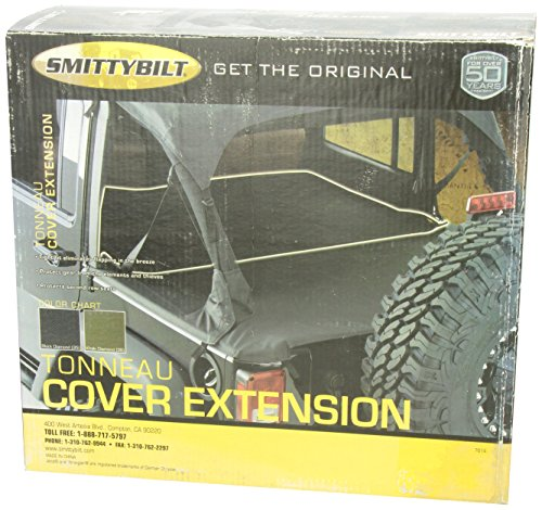 Smittybilt 761435 Black Diamond Tonneau Cover Extension 4 Door Buy Online In Albania At Desertcart