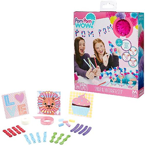 Pom Pom Wow! - Snap & Decorate Set