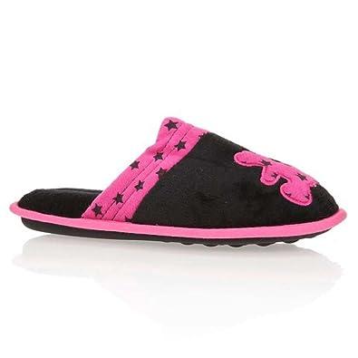 42c91fe94eb60 Lulu Castagnette Chaussons - Noir - Femme  Amazon.fr  Chaussures et Sacs