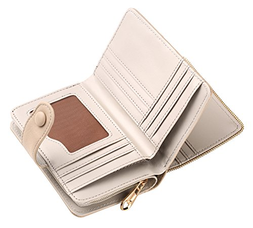 Women RFID Blocking Vintage Organizer Wallet for Ladies Small Purse with Multi Card Holder by Fanaztee (Image #3)