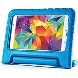 Exact Samsung Galaxy Tab 4 7.0 / Galaxy Tab 4 NOOK Case [KIDSTER Series] - Lightweight EVA Foam Protective Kid-Friendly Stand Case for Samsung Galaxy Tab 4 7.0 / Galaxy Tab 4 NOOK (SM-T230 / SM-T231 / SM-T235) Blue