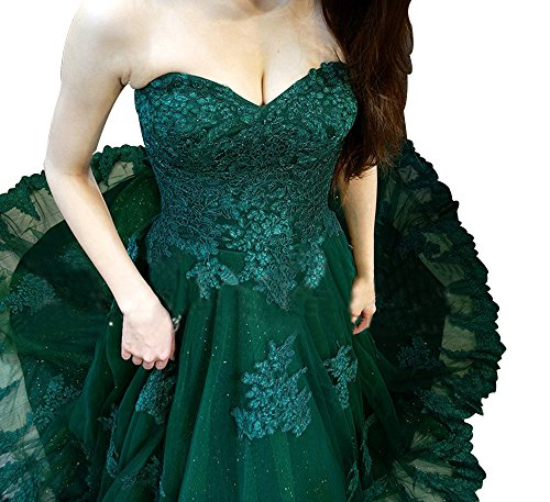 A Lace Ball Womens Lemon line Dress Gown Annies Tulle Strapless Prom Formal Bridal qzStPRn4