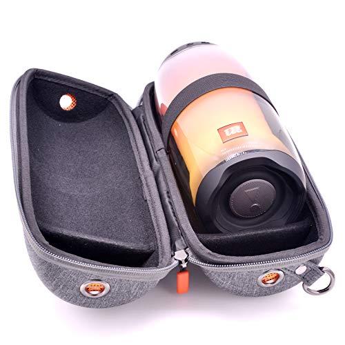 Flexible Carrying Case for JBL Pulse 4 Bluetooth Speaker with Shoulder Strap Portable Hard Travel Case Grey