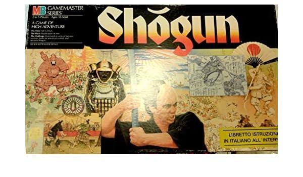 Amazon.com: Shogun (Gamemaster Series,1986) by Milton Bradley: Toys & Games