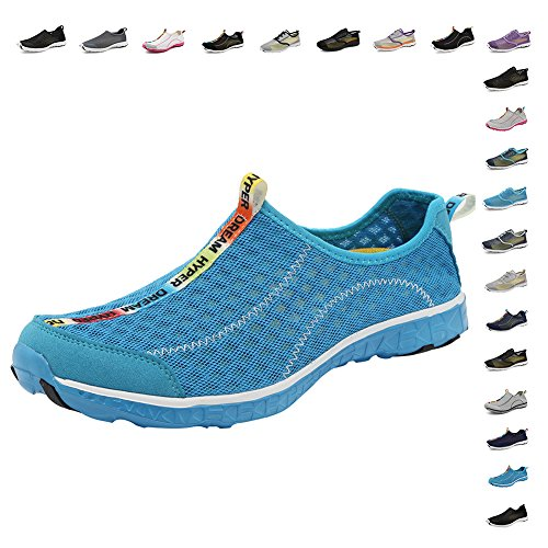 Swim Drainage Yoga Aqua Womens Quick Walking Holes Fanture Men Water Beach Drainage Wading rlsm Shoes Dry Blue01 18 Sports qxpq76wz