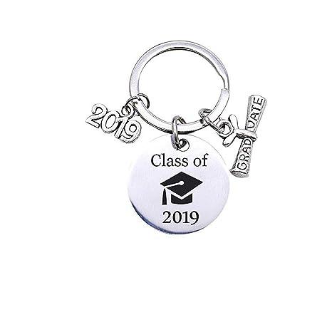 Amazon.com: Llavero de regalo de graduación 2019 para ...