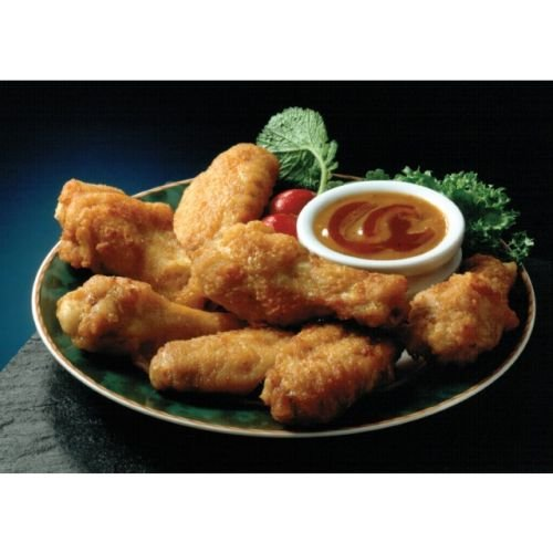 Wing Ditties Breaded Chicken Wingette, 12 Pound -- 1 each. by Brakebush