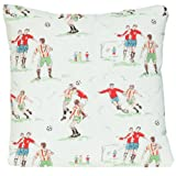 Cushion Cover Pillow Throw Cath Kidston Fabric Pattern Footballers