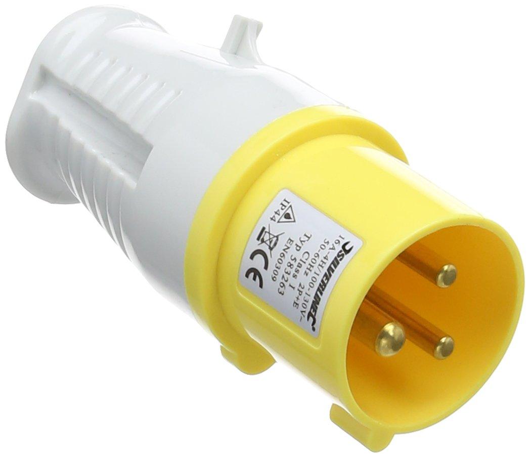 PowerMaster 583263 16A Plug 110V 3 Pin SLTL4
