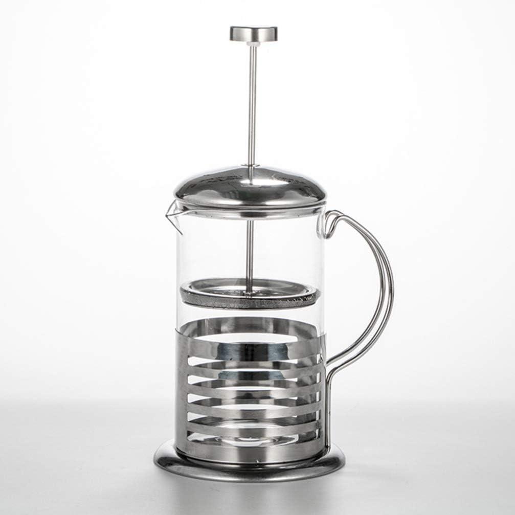 UPKOCH Kaffeebereiter mit Edelstahl Filter Kaffeezubereiter Presskanne Franz/ösische Kaffeepresse f/ür Kaffee oder Tee Espresso