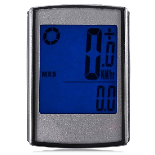 Top of top store Waterproof Bicycle Computer Speedometer Wireless Cycling Bike Odometer Speedo with LCD Backlight by Top of top store