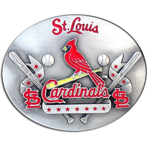 (MLB St. Louis Cardinals Belt Buckle)