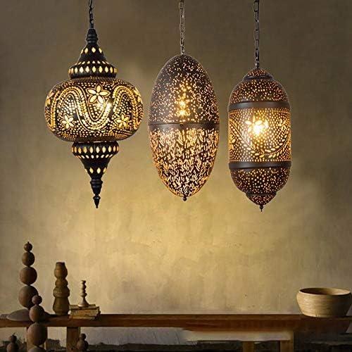 JohnnyLuLu Lámpara de Techo turca marroquí Araña, Retro