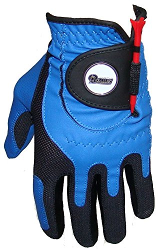 Zero Friction NFL Los Angeles Rams Blue Golf Glove, Left Hand by Zero Friction