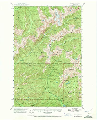 YellowMaps Mt Steel WA topo map, 1:62500 Scale, 15 X 15 Minute, Historical, 1947, Updated 1972, 21 x 17 in - Paper from YellowMaps