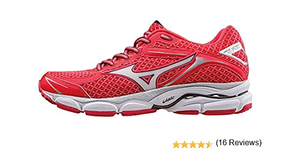 Mizuno Zapatillas de Running Wave Ultima 7 Wos Coral/Blanco EU ...