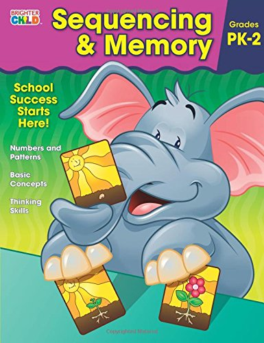 Sequencing & Memory Workbook (Preschool Memories)