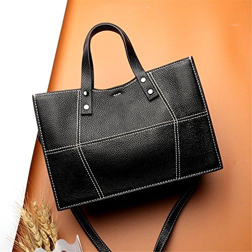 Top Ladies Bag Messenger Shoulder Zipper Xuanbao Black Handbag Leather Small ZEW4BqSq
