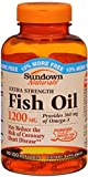 Sundown Naturals Fish Oil 1200 mg With Natural Omega-3 Softgels 90 Soft Gels (Pack of 12)