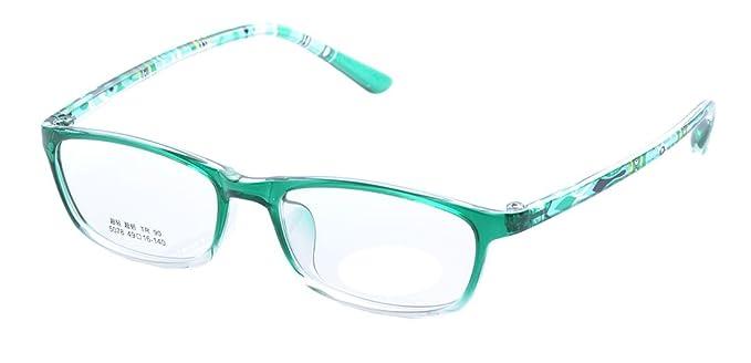 De Ding Kids Clear Lens Multicolored Eye Glasses Frames (green ...