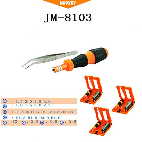 JM-8103 28 in 1 Screwdriver Repair Tools Set for Installed Disassemble Telecommunications
