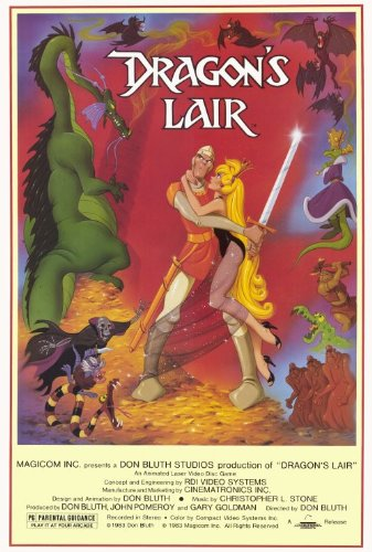 Dragon's Lair 27 x 40 Movie Poster