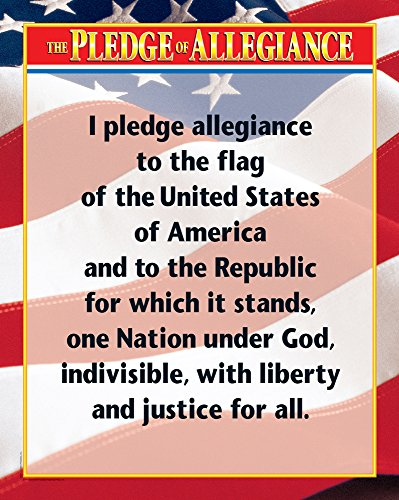 Creative Teaching Press The Pledge of Allegiance Chart (5340)