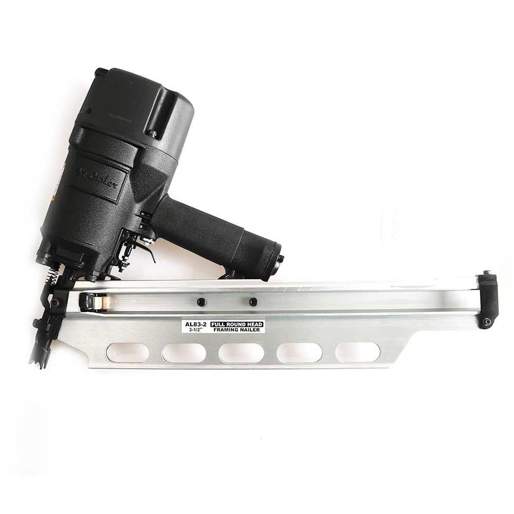 AIR LOCKER AL83-2 Full Round Head Framing Nailer 3-1/2'' Aluminum Magazine w/Out Depth Adjustment