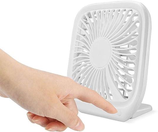 LXB Ventilador de sobremesa Ventilador USB Ultra silencioso ...