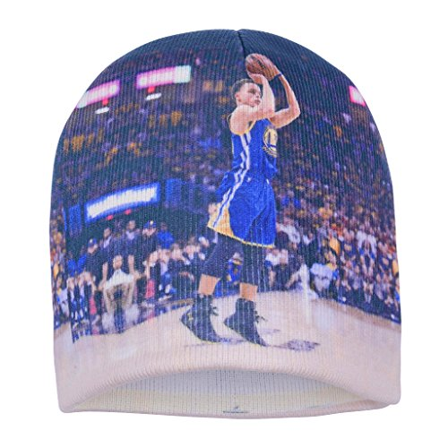 Forever Fanatics Golden State Curry #30 Basketball Beanie ✓ Digital Graphic Printing ✓ Pefect Basketball Fan Gift (One Size Fits All, Curry #30 Beanie)