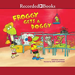 Froggy Gets a Doggy Audiobook